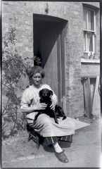 Woman and Dog