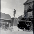 Boer War Memorial outside Swan Hotel at Bedford