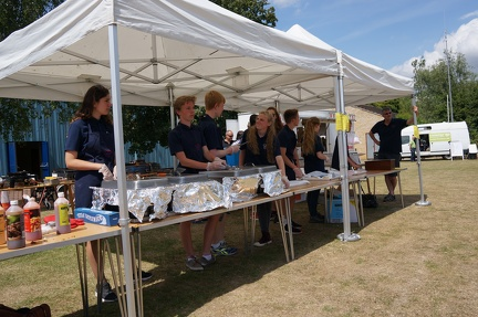 Scouts BBQ Stall