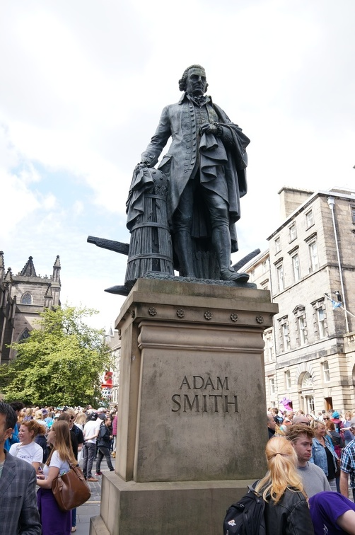 Not sure Adam Smith Approves