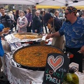 Paella Stall in the Grassmarket