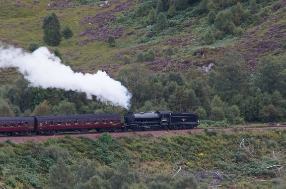 62005 Lord of the Isles on the Glenfinnan Viaduct