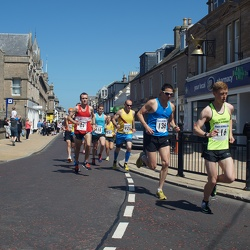 Nairn 10 mile road race and 3 mile fun run