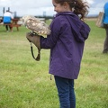 Little Girl and Barn Owl