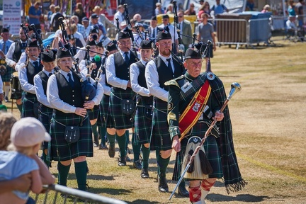 Forres & District Pipe Band
