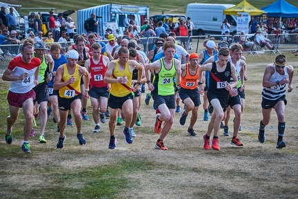 Start of the 10Km race