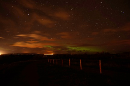 Aurora over the Moray