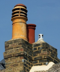 Chimney Pots in Church Lane