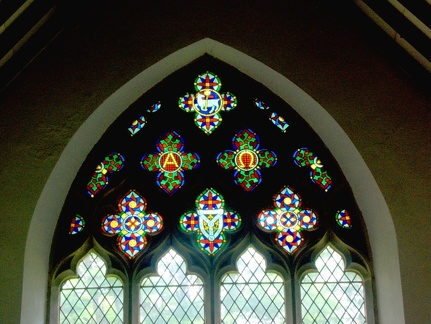 Window at All Saints' Milton