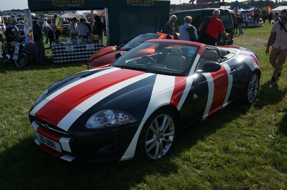 Jaguar XK8 with a great paint job